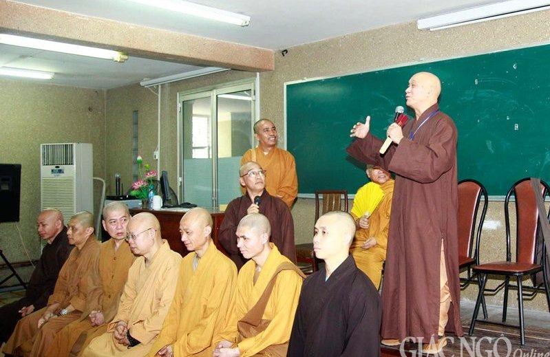 HT.Thích Quảng Tâm và đoàn Phật Giáo Đài Loan thăm Tổ Đình Giác Nguyên
