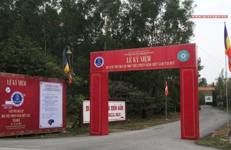 Ngày 26-12, Học viện PGVN tại Huế tổ chức lễ kỷ niệm